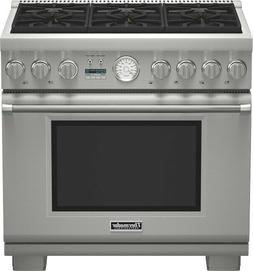 """Thermador Pro Grand PRD366JGU 36"""" Stainless Steel Pro-Style"""
